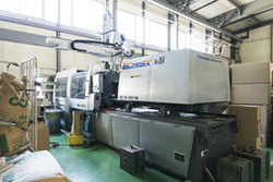 ELECTROMOTIVE INJECTION MOLDING MACHINE 230t